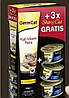 Набор Gimcat Multi Vitamin Paste, 100 г + 3 консервы ShinyCat Filet в подарок