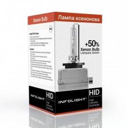 Лампа D3S 4300K Infolight +50%, фото 2