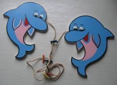 Авторский фотолайнер «Дельфины», Funny Animals