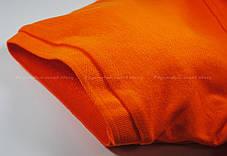 Мужское Поло Премиум Fruit of the loom Оранжевое 63-218-44 S, фото 3