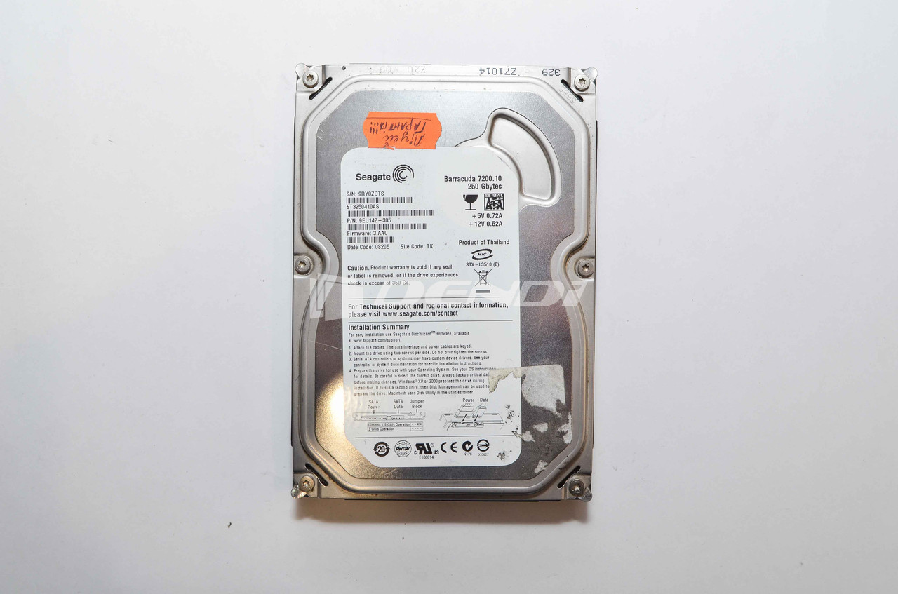 HDD 3.5 SATA Seagate 250 GB