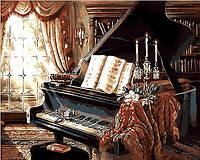 Раскраска по цифрам Mariposa Музыкальный вечер (MR-Q300) 40 х 50 см