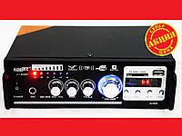 Усилитель звука KT-809BT + USB+SD+AUX+Bluetooth+Караоке, фото 1