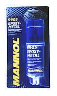 Клей эпоксидный Mannol напол.из стали 30г  2-компонента (шприц)