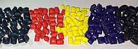 Краситель для полиморфуса в гранулах (полиморф, поликапролактон, Plastimake), 5 цветов по 0,5 гр.