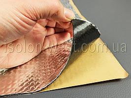 Виброизоляция VibroMax m2, размер 50 х 70 см, толщина 2 мм.