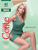 Conte Tango капроновые колготки 40 Den 3 размер, цвет белый