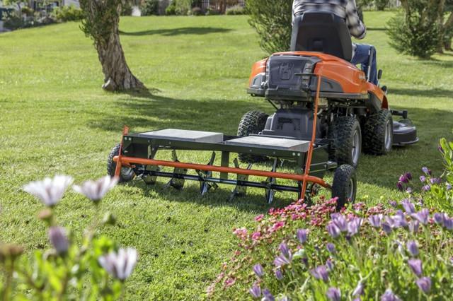 Аэратор прицепной для трактора-газонокосилки Husqvarna
