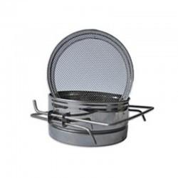 Фільтр 150мм нержавійка (плоский)