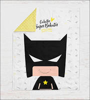 "Панелька премиум хлопок ""Бэтмен"" 100*75"