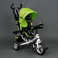 Детский трёхколёсный велосипед Best Trike, салатовый