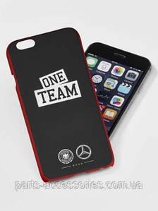 Чехол для iPhone 6 6S Mercedes ONE TEAM Germany Football Новый Оригинальный