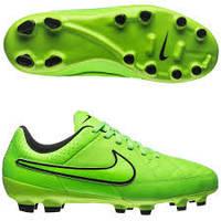 Бутсы детские Nike JR TIEMPO GENIO LEATHER FG Размеры  35