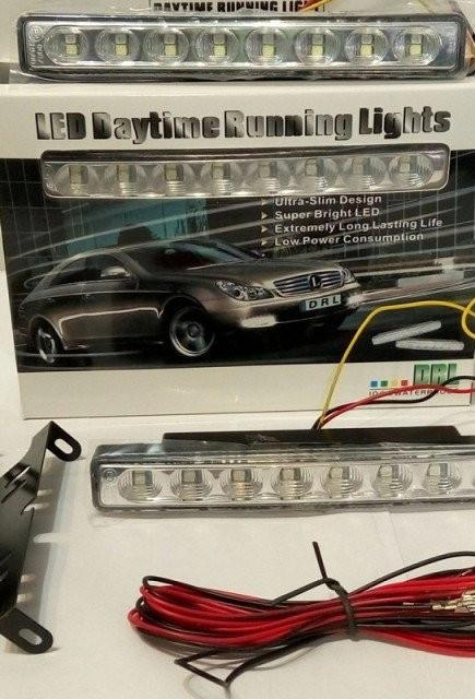 Ходовые огни дневные DRL 8 LED диодов