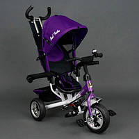 Детский трёхколёсный велосипед Best Trike,фиолетовый