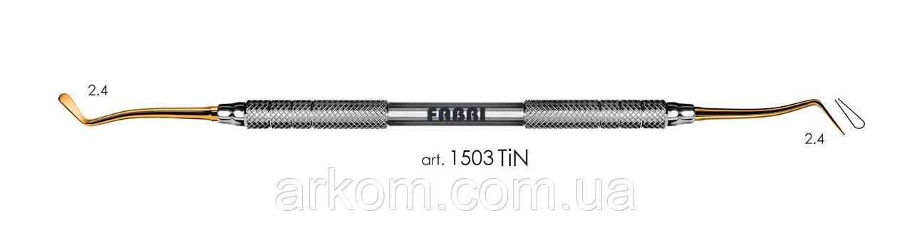FABRI Малая двухсторонняя гладилка Покрытие TiN