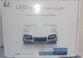 Ходовые огни DRL 6 LED диодов