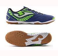 Обувь для футзала Joma SONIC 503 NAVY-GREEN FLUOR INDOOR