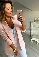 Короткий женский пиджак