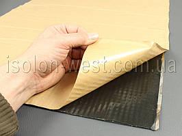 Виброизоляция VibroMax m3, размер 50 х 70 см, толщина 3 мм.
