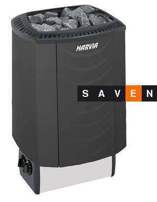 Электрическая каменка Harvia Sound M80 черная для сауны и бани, фото 2