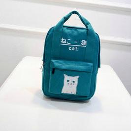 Сумка-рюкзак с котиком