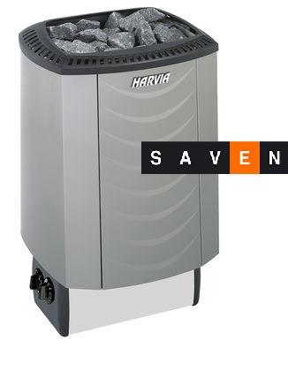 Электрическая каменка Harvia Sound M80 platinum для сауны и бани