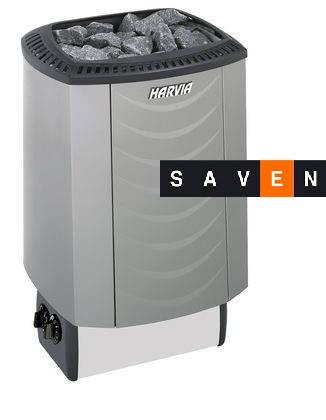 Электрическая каменка Harvia Sound M80 platinum для сауны и бани, фото 2