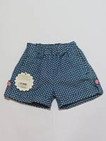 Детские шорты для девочек Турция 92р-110р