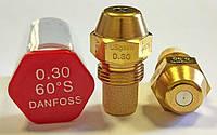 Форсунка Danfoss OD 0.3 Usgal/h 60° S (1.15 kg/h)