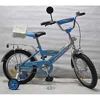 """Велосипед 2-х колесный EXPLORER 16"""" T-21612 blue + silver"""