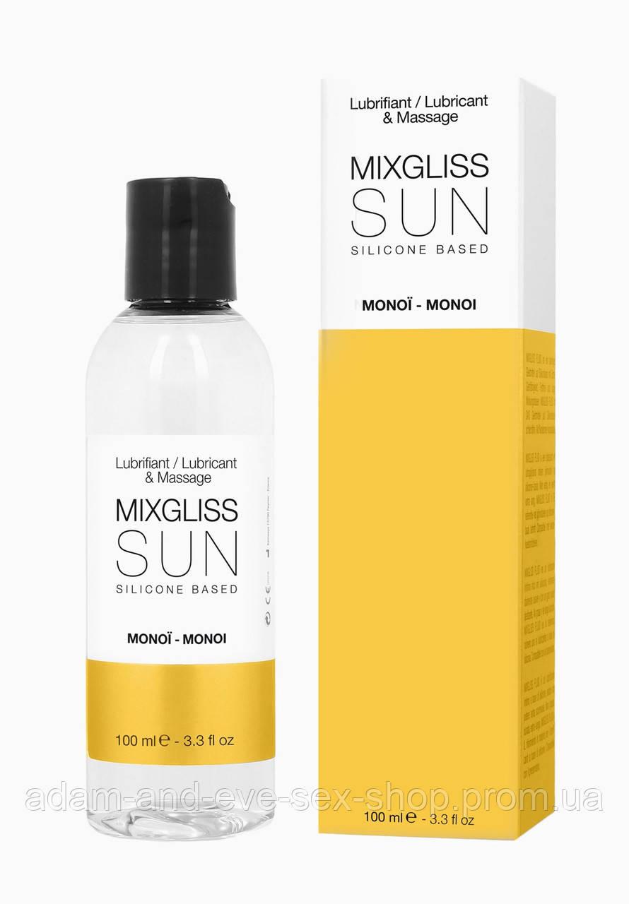 Лубрикант на силиконовой основе MixGliss SUN MONOI 100 мл
