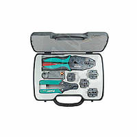 Набор инструментов (для обжатия коаксиального кабеля) Pro'sKit 6PK-330K (8 элементов)