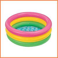 Детский надувной бассейн Intex 58924 «Радуга»