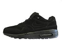 Кроссовки мужские Nike Air Max 871 Essential Antifur  (найк аир макс 87)бордовые