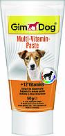 Витаминная паста GimDog Multi-Vitamin Paste для собак общеукрепляющая, 50 г