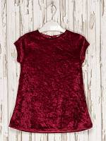 Платье бордовое 2-3,5-6,9-10 лет (Д)