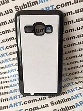 Чехол для 2D сублимации пластиковый на Samsung Galaxy j1 (j120) черный