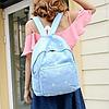 Городской рюкзак в ромашках, фото 2