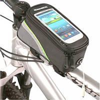 Велосумка. Сумка на раму. Под смартфон. Сумка для велосипеда. Сумка вело. Бардачок