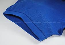 Мужское Поло Премиум Fruit of the loom Ярко-Синее 63-218-51 S, фото 3