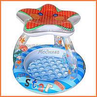 Детский надувной бассейн Звездочка Intex 57428