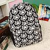 Черно-белый городской рюкзак с тиграми, фото 4