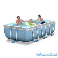 БАССЕЙН КАРКАСНЫЙ INTEX 28314 PRISM FRAME POOL(300СМ/175СМ/80СМ)