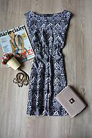 Легкое платье в принт Mela Loves London