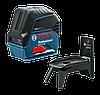 Bosch GCL 2-15 нивелир лазерный комбинированный в кейсе (0601066E00)