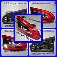 Фонарь задний левый внутренний Ford S-MAX 10-15 БУ AM2113A603AF | Разборка FORD S-MAX