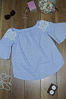 Женская блуза крестьянка  Italy, фото 1