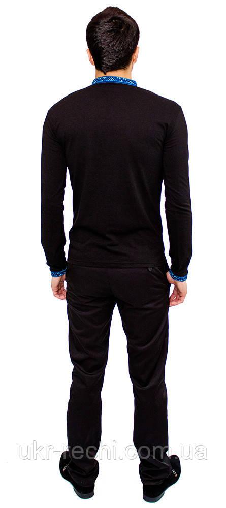 ... фото 2 · Чорна футболка з довгим рукавом 5f478493d619c