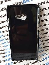 Чехол для 2D сублимации пластиковый на Samsung Galaxy A3 (2017) черный, фото 3